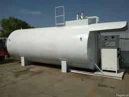 Двустенный резервуар для ГСМ, 25 м³