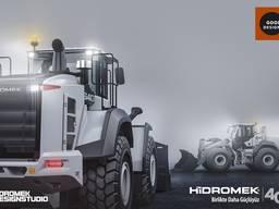 Новый фронтальный погрузчик Hidromek HMK 640WL