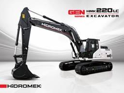 Новый гусеничный экскаватор Hidromek HMK 220 LC