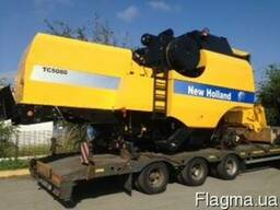 Новый комбайн New Holland TC 5080 с жаткой New Holland 20 ft