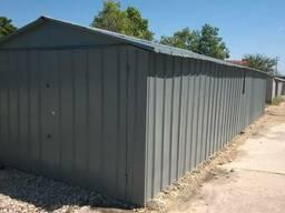 Новый металлический гараж в г/к Таврический.