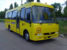Новый школьный инвалидный автобус Аtaman D093S4