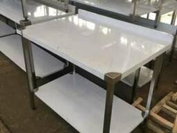 Новый стол из нержавейки 1500*600*850