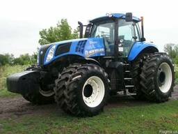 Новый трактор New Holland T8.390