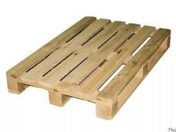 Новые деревянные поддоны 1200х800 (настил из 6-7 досок)