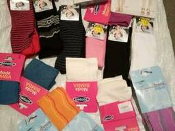 Новые носки детские по 15 евро/кг. Лоты по 5 кг.