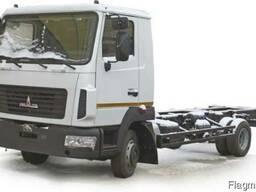 Новые шасси МАЗ 4371N2 540 001