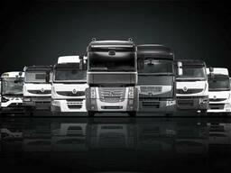 Новые запчасти на грузовики Renault всех моделей