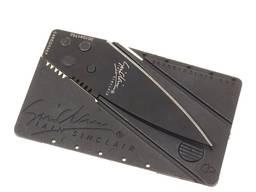 Складной нож кредитка (нож в виде пластиковой карты)