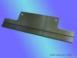 "Нож отсекающий пленку 220х68х2,0 мм на полуавтомат ""Резак"""