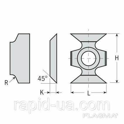 Ножи фасочные и радиусные 16×22×5 R2 ммCMT Италия