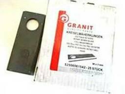 Ножи Granit для роторной косилки,