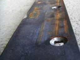 Ножи грейдерные к строительно-дорожной технике ДЗ-122, 143