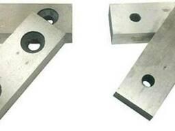 Ножи к станкам для рубки арматуры (возможно по чертежам зак)
