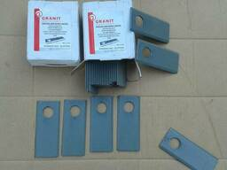 Ножи роторной косилки Granit