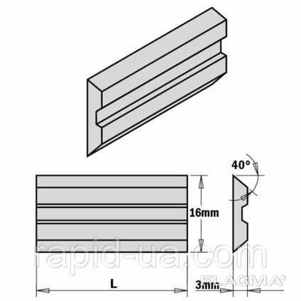 Ножи строгальные 20×16×3 Centrolock CMT
