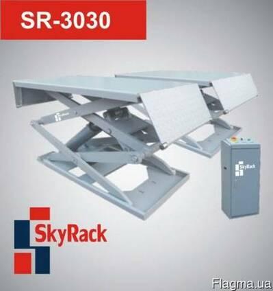 Подъемник ножничный автомобильный SkyRack 3030