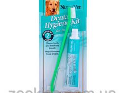 Nutri-Vet щетка и зубн. паста-104грн