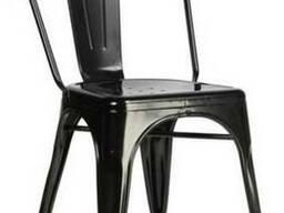 Обеденный металлический стул LOFT (ЛОФТ) для кафе, бара Киев