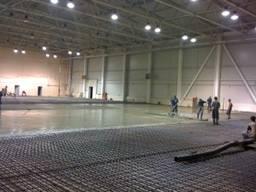 Обеспыливание бетонных и цементных покрытий