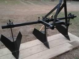Обгортачі (окучники) потрійні для мінітрактора