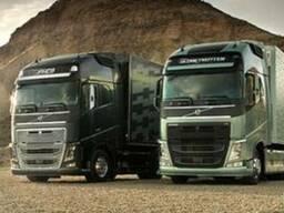 Облегченный комплект гидравлики на тягач Volvo