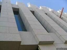 Облицовочная гранитная плита для фасадов, толщина 10-200 мм!
