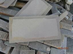 Облицовочная плитка из шлифованного песчаника «Галич»