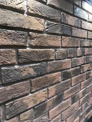 Облицовочный камень Бельгійський кирпич 170х70