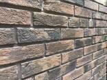 Облицовочный камень Бельгійський кирпич 170х70 - фото 2