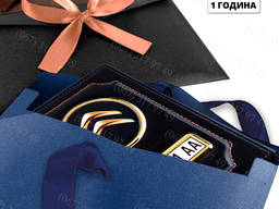 Обложки с номером Твоего авто в подарочной упаковке