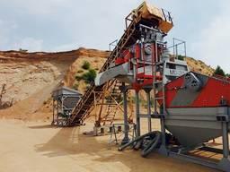 Обогащение угольных шламов, песка, отсевов известняка и гранита
