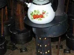 Обогреватель(буржуйка) на жидком топливе (солярка)