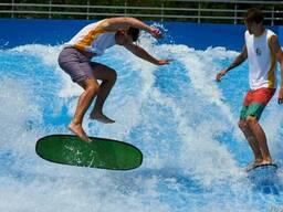 Оборудование бассейна для серфинга