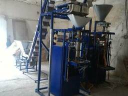 Оборудование цеха фасовки и упаковки сыпучих продуктов