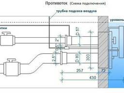 Оборудование для бассейна, противоток из нержавеющей стали