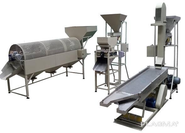 Оборудование для переработки фундука