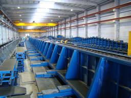 Оборудование для производства бетонных колонн универсальное