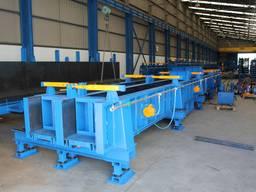 Оборудование для производства бетонных колонн, сдвоенная