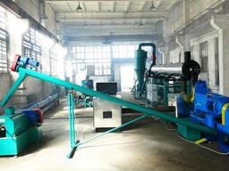 Оборудование для производства брикетов из отходов подсолнечн