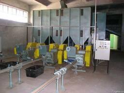Оборудование для производства топливных брикетов 500-700кг/ч