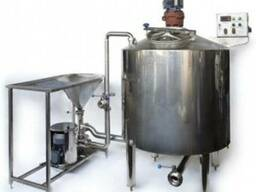 Оборудование для производства вареного сгущенного молока