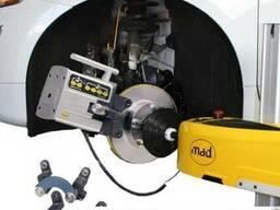 Оборудование для проточки тормозных дисков без снятия