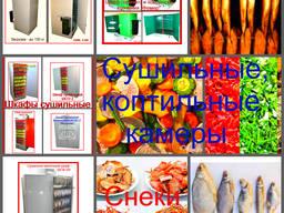 Оборудование для снеков рыбных, мясных, овощных