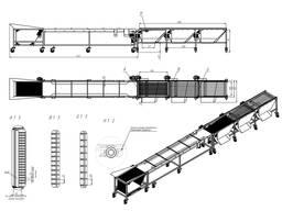 Оборудование для сортировки и калибровки грибов, ягод