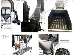 Оборудование для упаковки, фасовки древесного угля