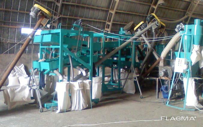 Оборудование крупяное - получение крупы из всех видов зерна