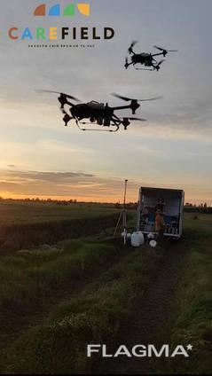 Опрыскивание дронами