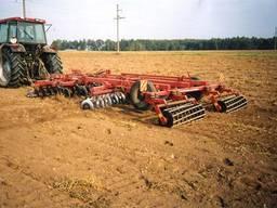Обработка почвы, дискование, вспашка, культивация, рыхление
