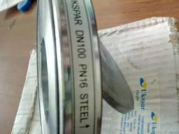 Обратный клапан межфланцевый стальной, Ду 100 / диск-нж